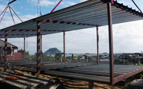 steel framing used in building